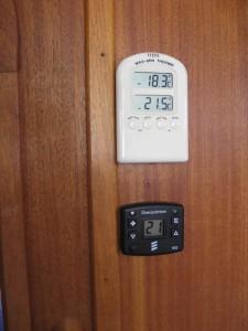 Reglage värmare